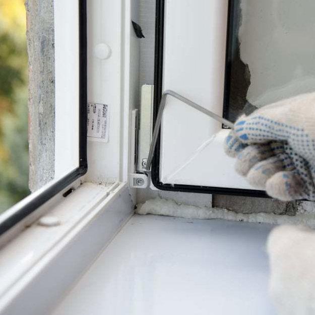 Причины ремонта пластиковых окон
